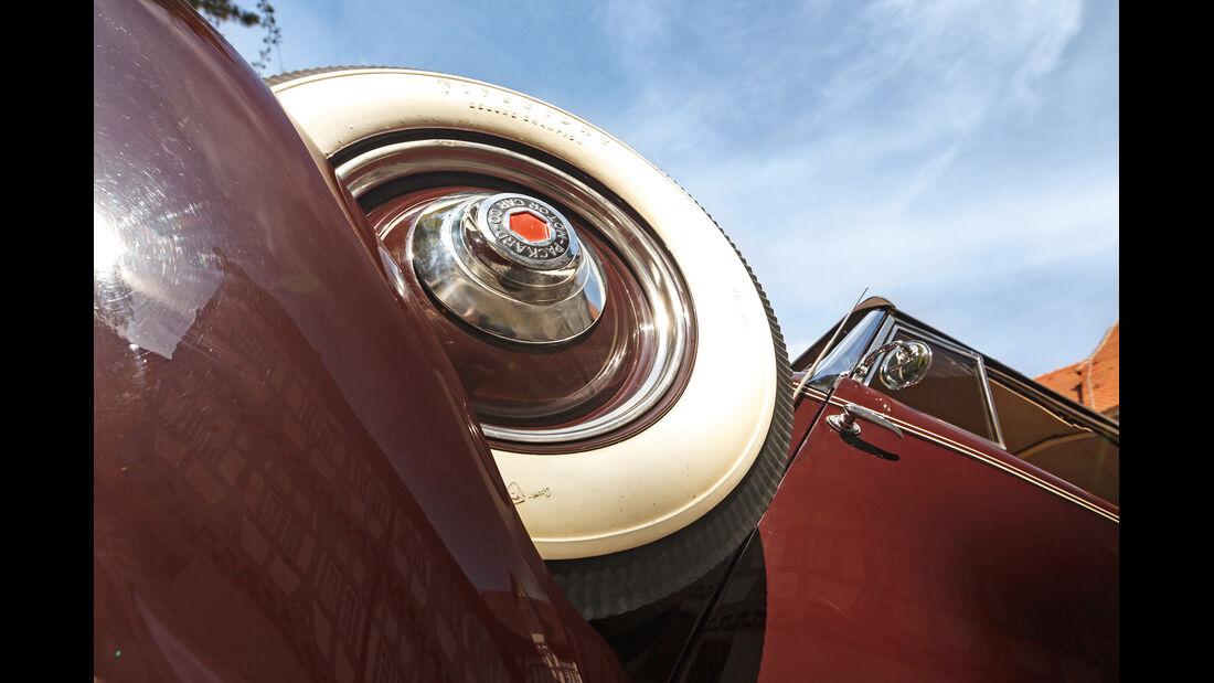 Packard 120 Convertible, Ersatzrad
