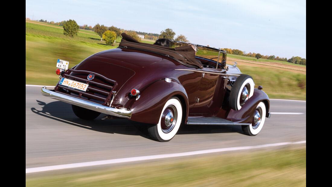 Packard 120 Convertible, Heckansicht