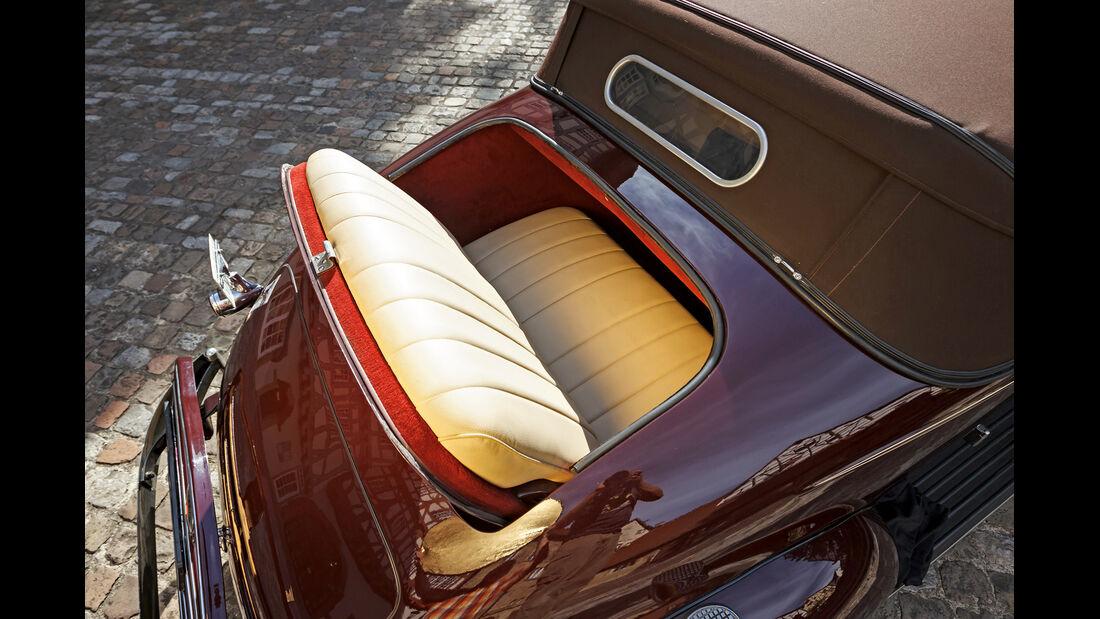 Packard 120 Convertible, Notsitz