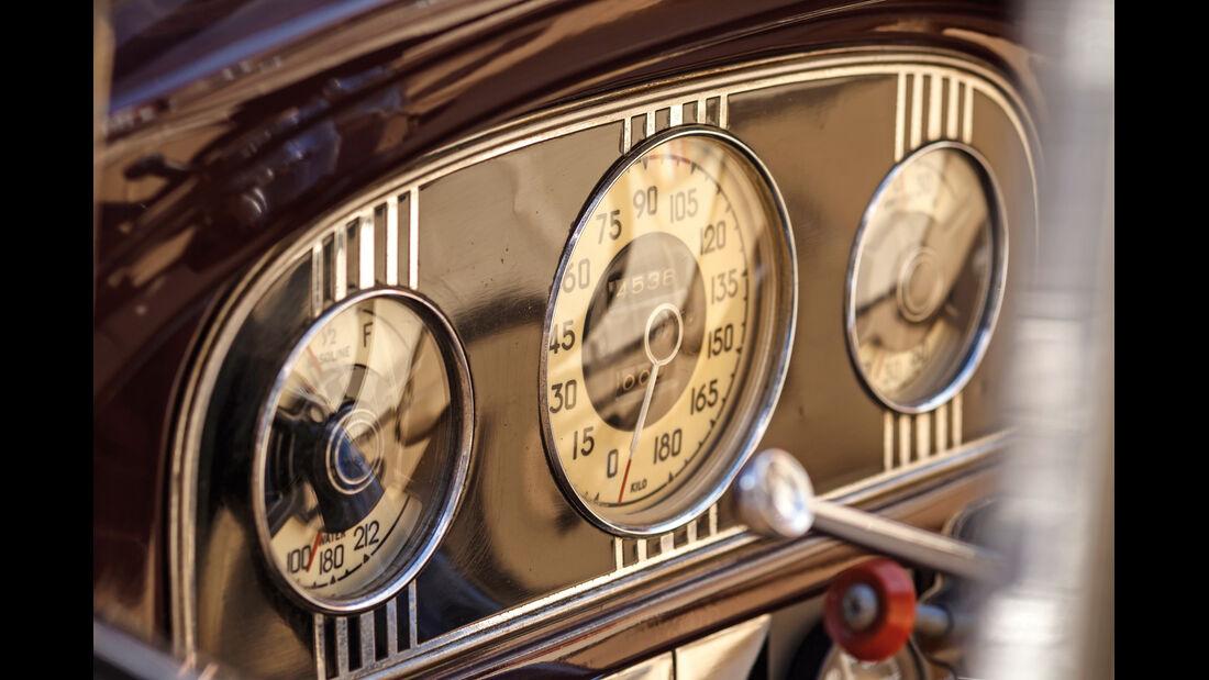 Packard 120 Convertible, Rundinstrumente