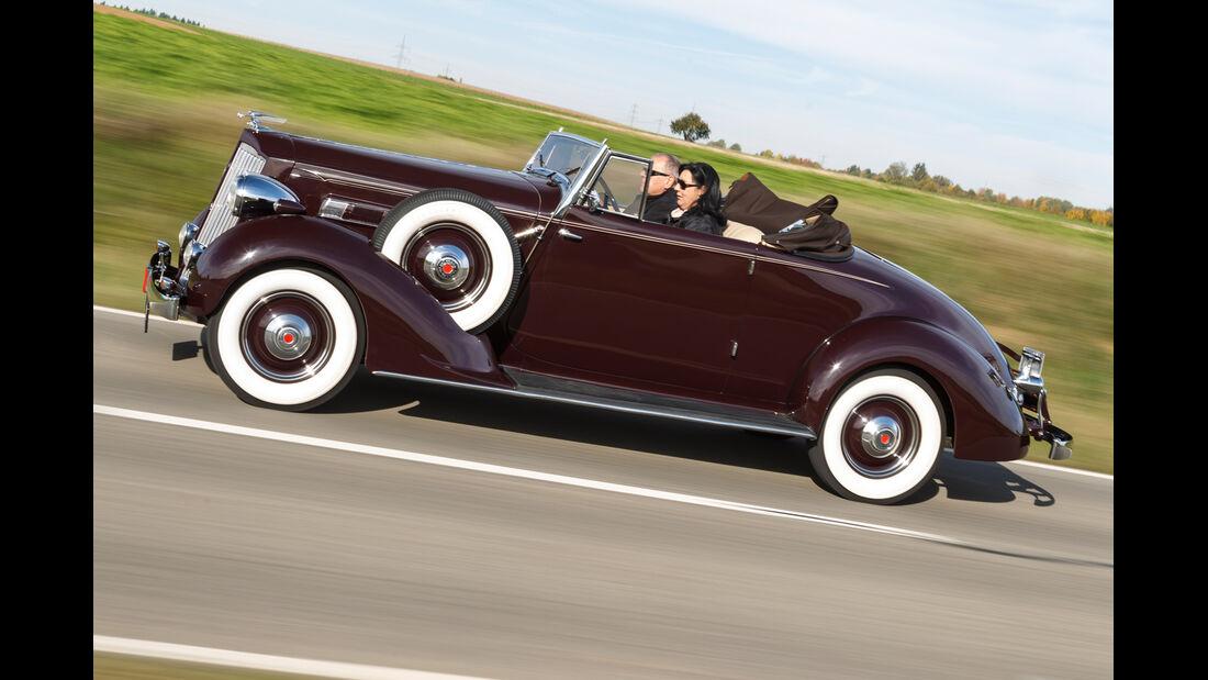 Packard 120 Convertible, Seitenansicht