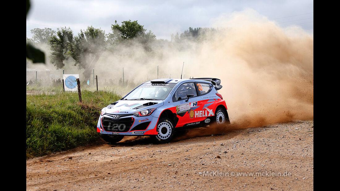 Paddon Rallye Polen 2014