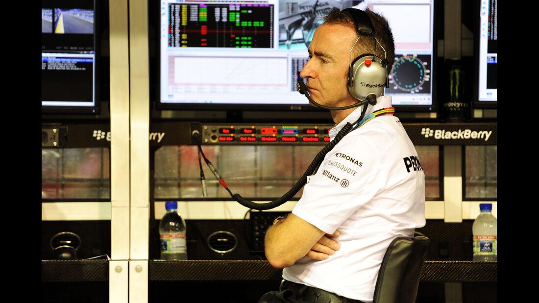 Paddy Lowe - Mercedes - Formel 1 - GP Singapur - 19. September 2014