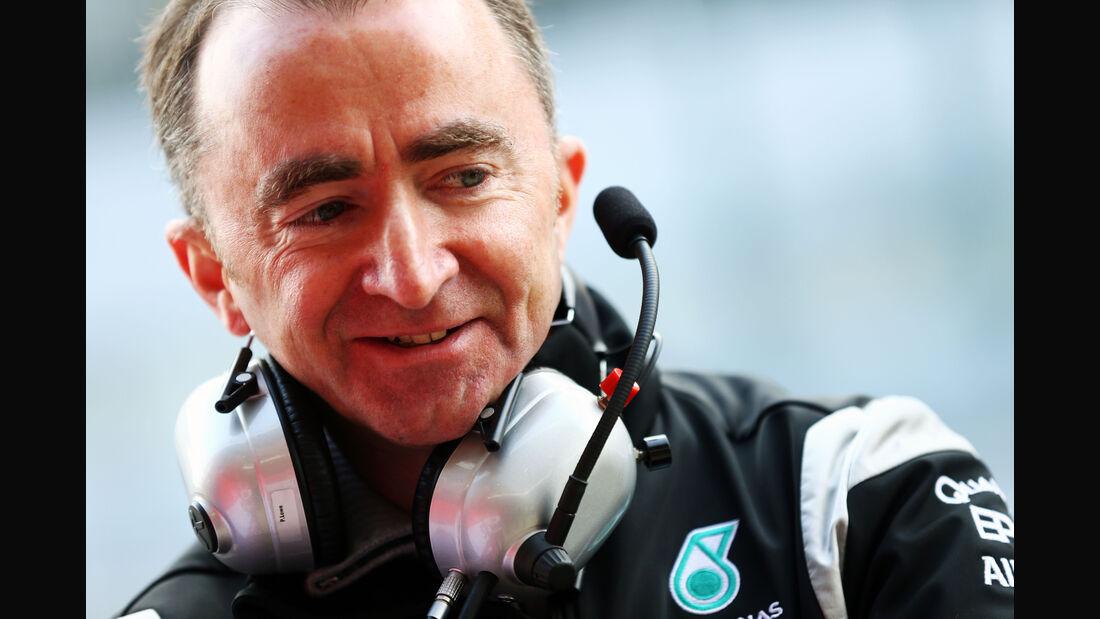 Paddy Lowe - Mercedes - Formel 1-Test - Barcelona - 25. Februar 2016