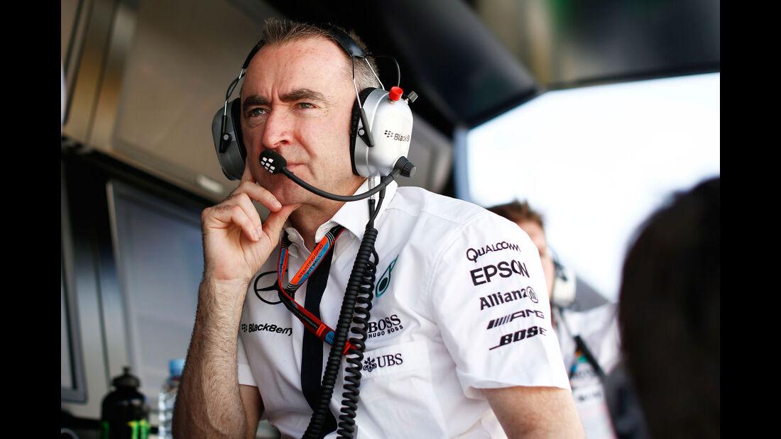 Paddy Lowe - Mercedes - GP Spanien - Qualifying - Samstag - 9.5.2015