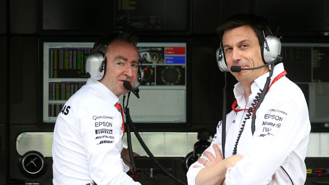 Paddy Lowe & Toto Wolff - Mercedes - Formel 1 - GP Aserbaidschan - Baku - 17. Juni 2016