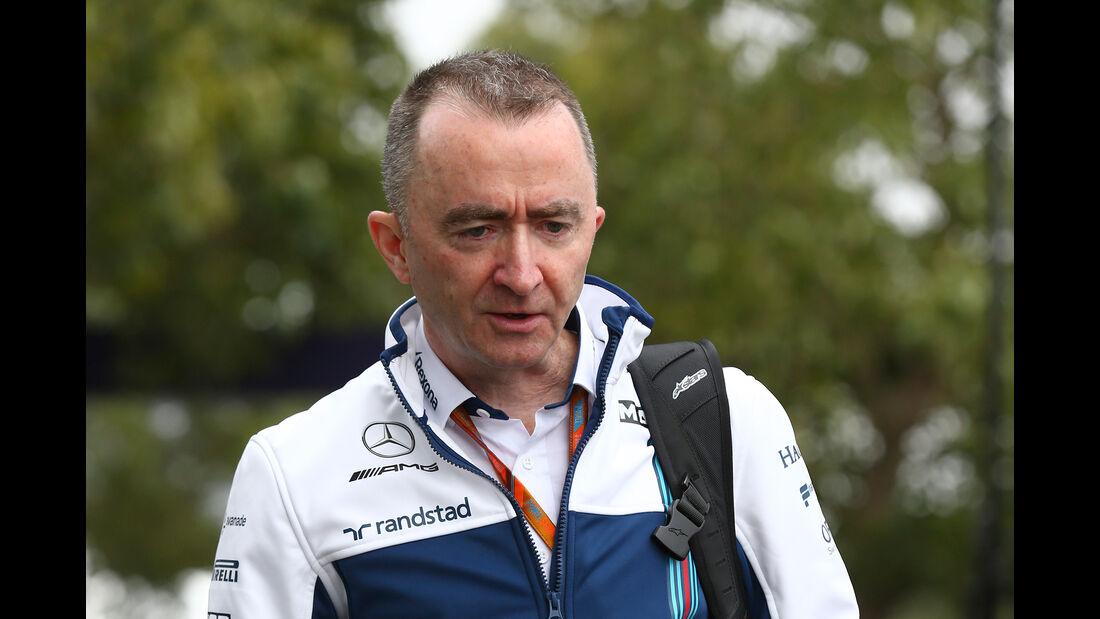 Paddy Lowe - Williams - Formel 1 - GP Australien - Melbourne - 22. März 2017