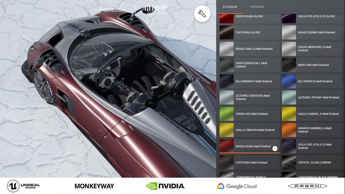 Pagani Huayra BC Roadster