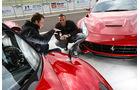 Pagani Huayra, Ferrari F12 Berlinetta, Motorhaube