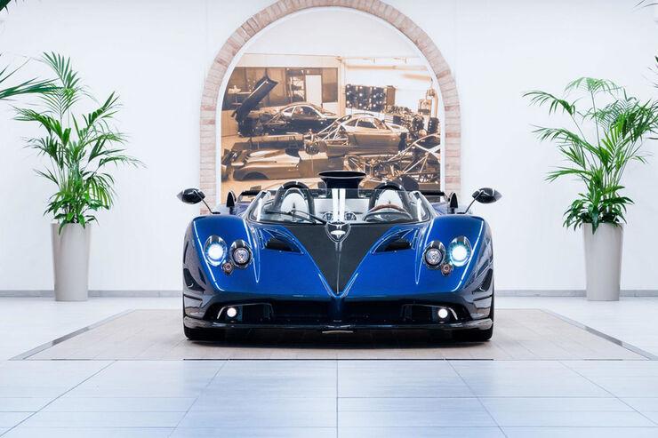 pagani zonda hp barchetta: neuwagen für 15 millionen euro - auto