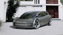Page-Roberts Elektroauto-Konzept