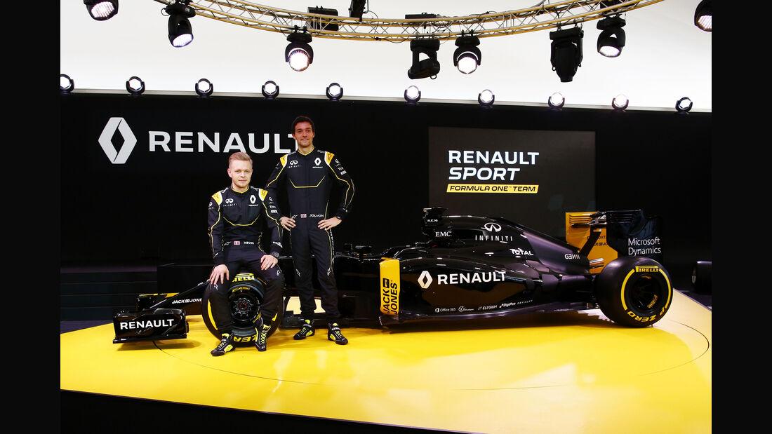 Palmer & Magnussen - Renault - Formel 1 - 2016