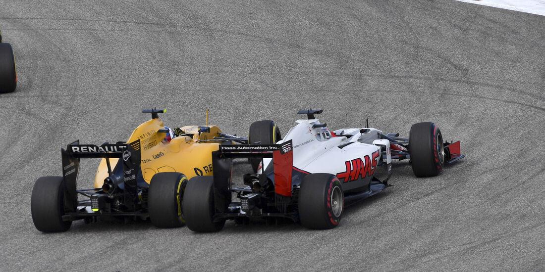 Palmer vs. Grosjean - GP USA 2016