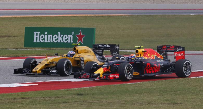 Palmer vs. Verstappen - GP USA 2016