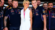 Pamela Anderson - Formel 1 - GP USA - 1. November 2014