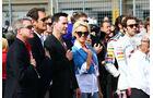 Pamela Anderson - Keanu Reeves - Formel 1 - GP USA - 2. November 2014
