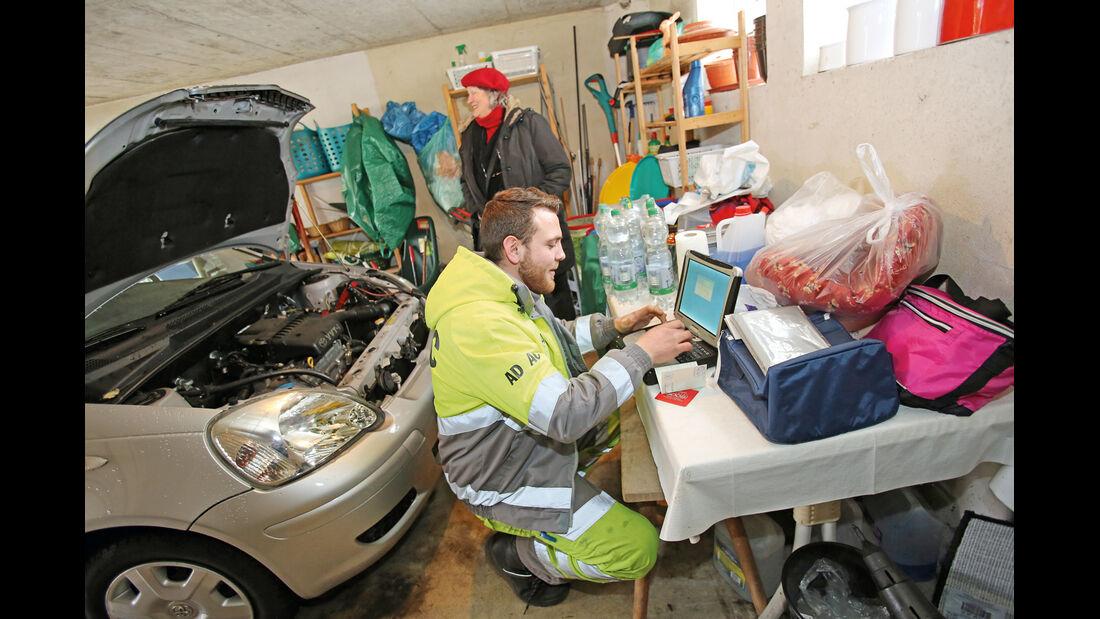 Pannenhilfe, Garage, Toyota Yaris