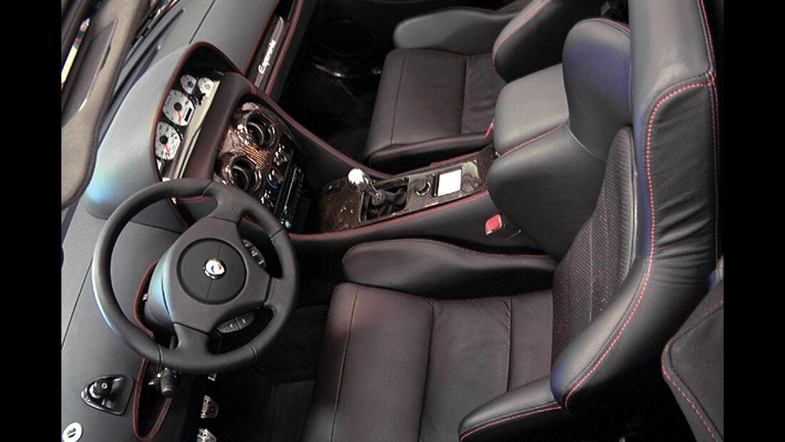 Panoz Esperante JRD Cockpit