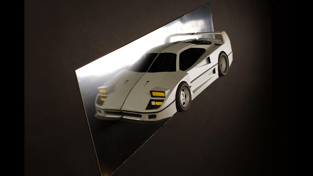 Paperlegend Auto Modelle Papier Nachbau Design Kickstarter
