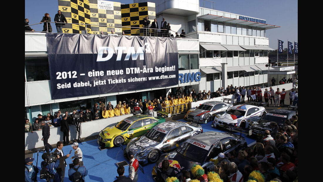 Parc Fermé DTM Hockenheim Finale 2011