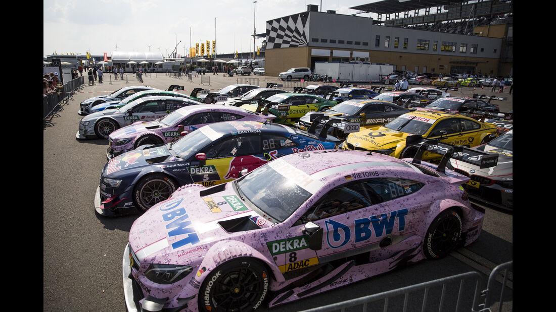 Parc Fermé - DTM Lausitzring 2016