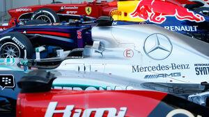Parc Fermé - Formel 1 - 2013