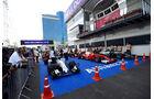 Parc Fermé - Formel 1 - GP Aserbaidschan - Baku - 18. Juni 2016