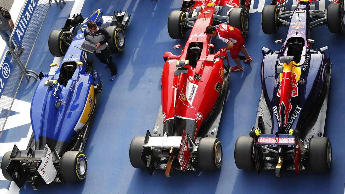 Parc Fermé - Formel 1 - GP China - Shanghai - 11. April 2015