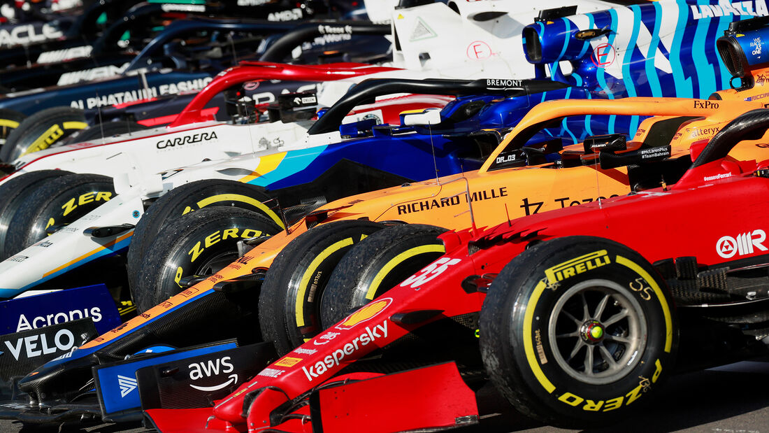 Parc Fermé - Formel 1 - GP England - Silverstone - 17. Juli 2021