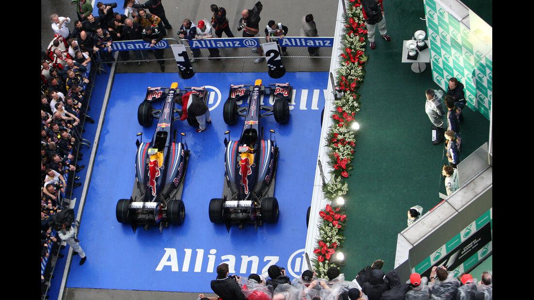 Parc Fermé - GP China 2009