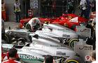 Parc Fermé GP China 2013