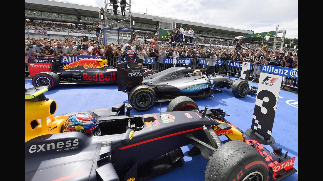 Parc Fermé - GP Deutschland 2016