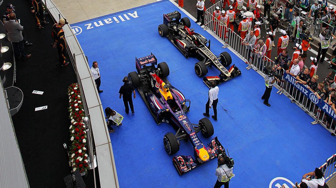 Parc Fermé - GP Korea 2013