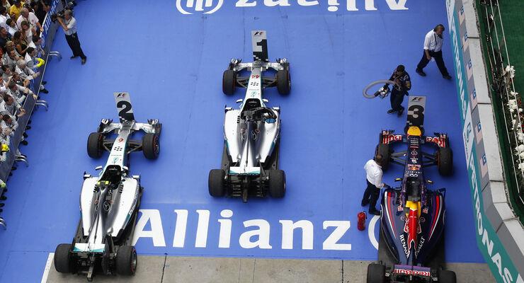 Parc Fermé - GP Malaysia 2014