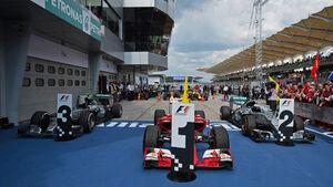 Parc Fermé - GP Malaysia 2015