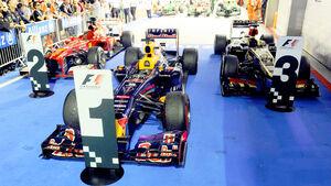 Parc Fermé - GP Singapur 2013