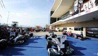 Parc Fermé - GP USA 2014