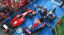 Parc Fermé - GP Ungarn 2014