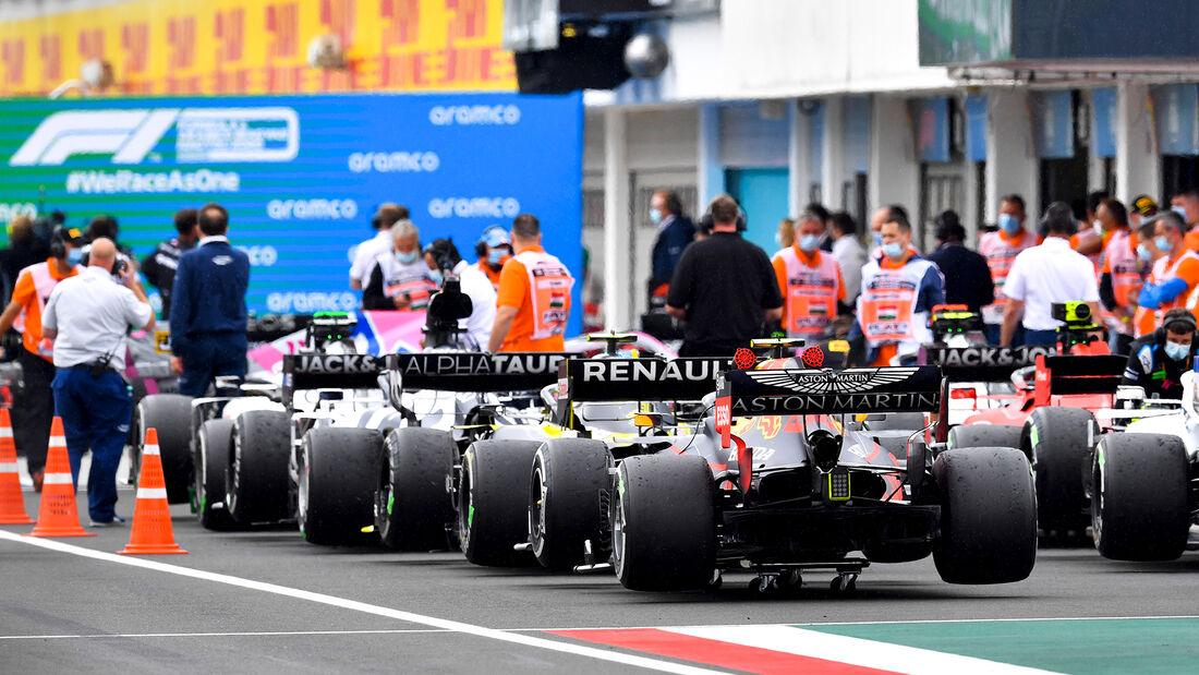Parc Fermé - GP Ungarn 2020