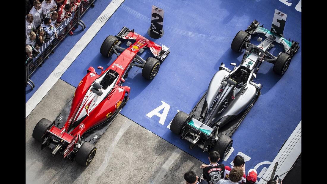Parc Fermé - Statistik - GP China 2016