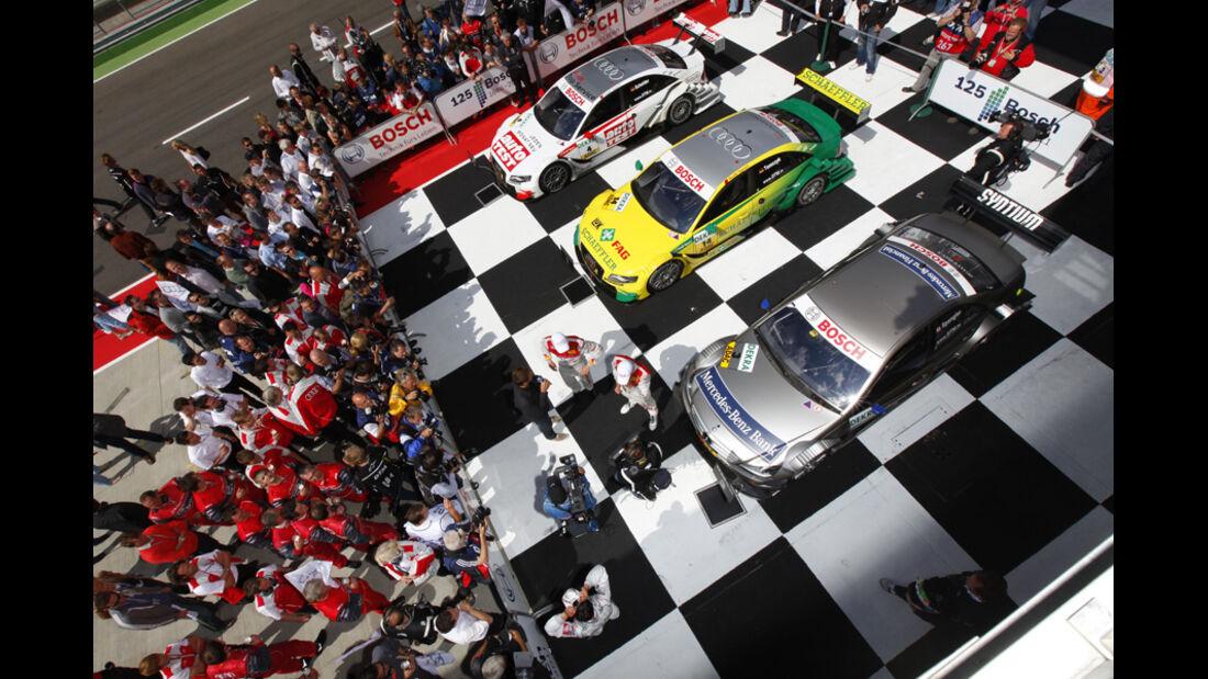 Parc Ferme DTM Lausitzring 2011