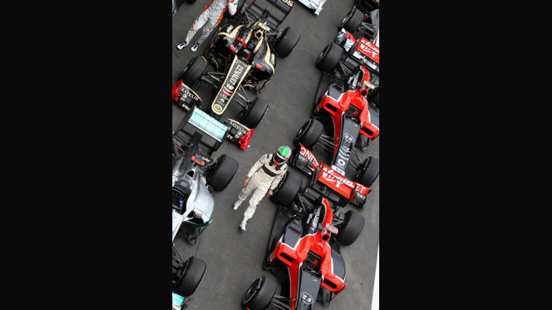 Parc Ferme GP Deutschland 2011