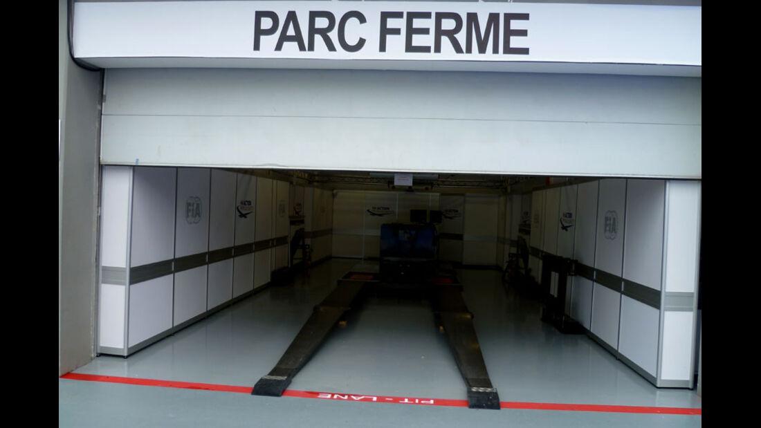 Parc Ferme - GP Singapur - 22. September 2011