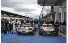 Parc fermé - 24h Qualirennen - Nürburgring Nordschleife - 06. April 2014