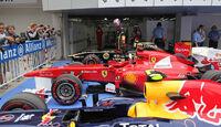 Parc fermé - Formel 1 - GP Korea - 15. Oktober 2011