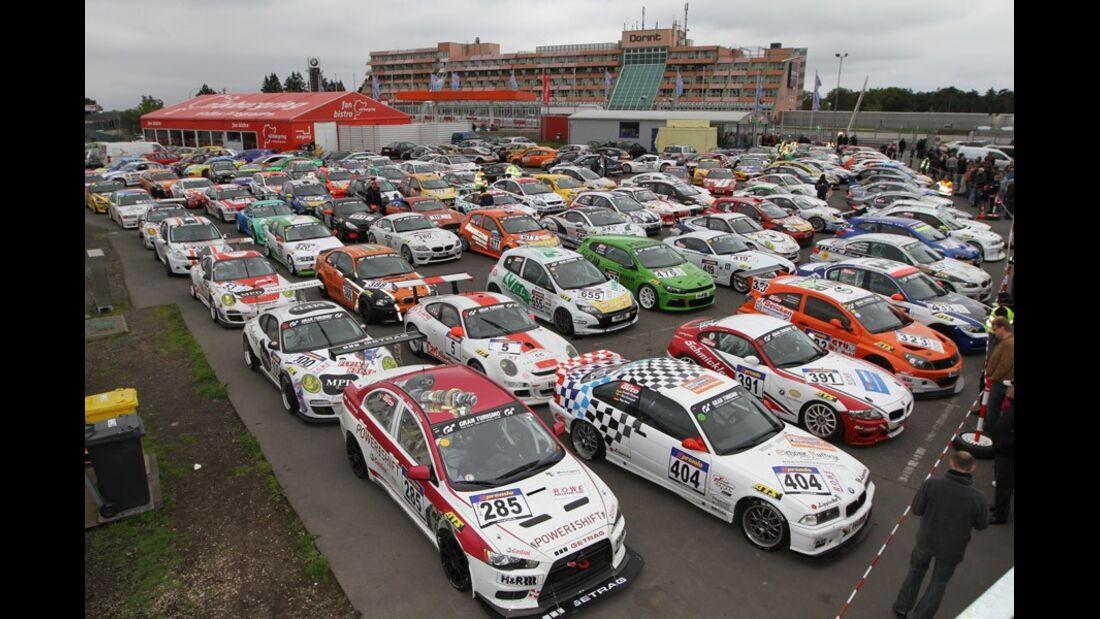 Parc ferme, Fahrzeuggruppe, VLN, Langstreckenmeisterschaft, Nürburgring