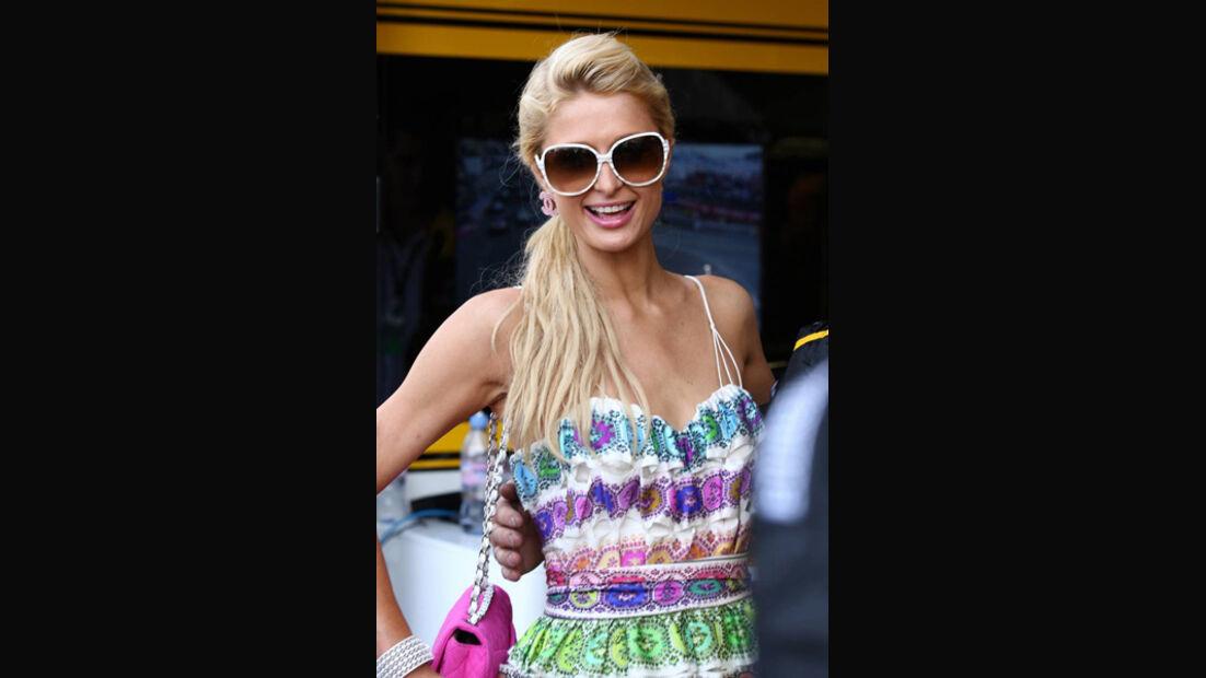 Paris Hilton beim GP Monaco