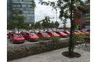 Parkplatz Opel Astra