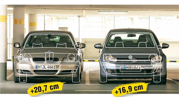 Parkplatz-Probleme