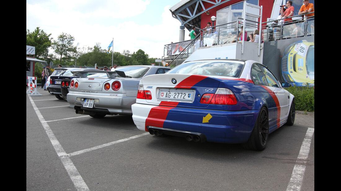 Parkplatz, verschiedene Modelle